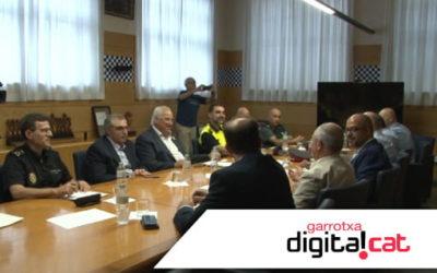 Junta de Seguretat d'Olot: els sistemes de videovigilància contribueixen als bons resultats