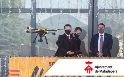 Participem en la presentació del primer dron policial amb retransmissió de vídeo en directe